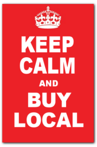 keep calm and buy local 1